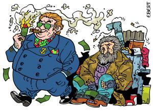 Rich & poor-